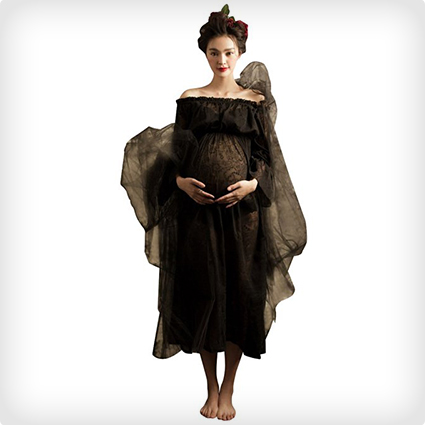 Vintage Ghost Maternity Costume