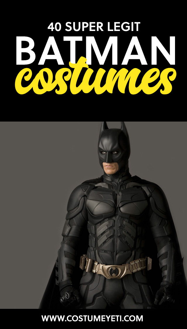 """""""Holy cool costumes, Batman!!!"""" But seriously, if you are looking for a Batman costume, make sure to read this first."""
