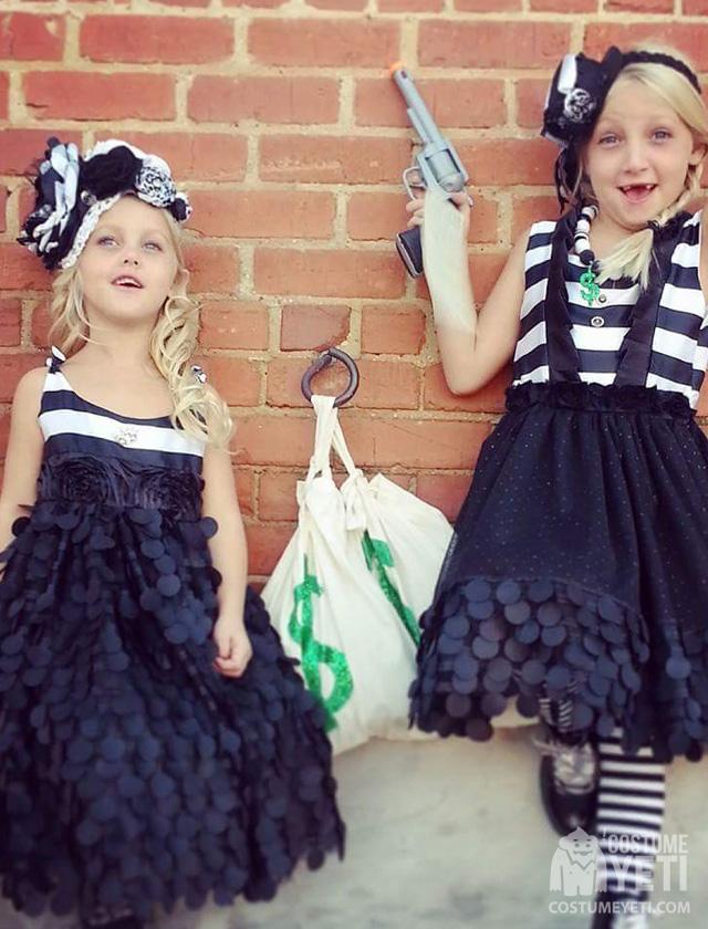 Bankrobber Kids Costume