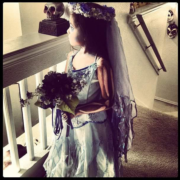 Corpse Bride Halloween Costume Diy.Diy Kids Corpse Bride Halloween Costume Costume Yeti
