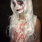 Creepy Doll Face Costume
