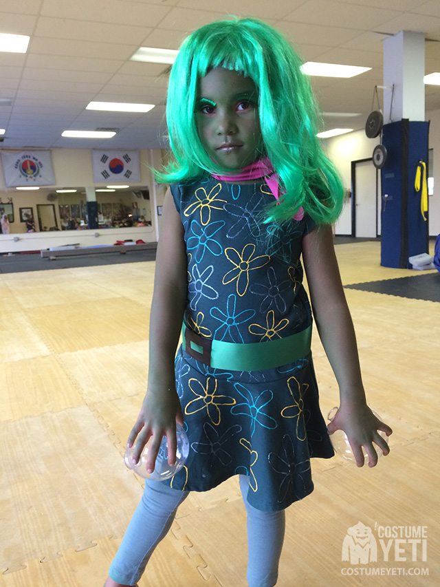 Disgust from Inside Out Costume