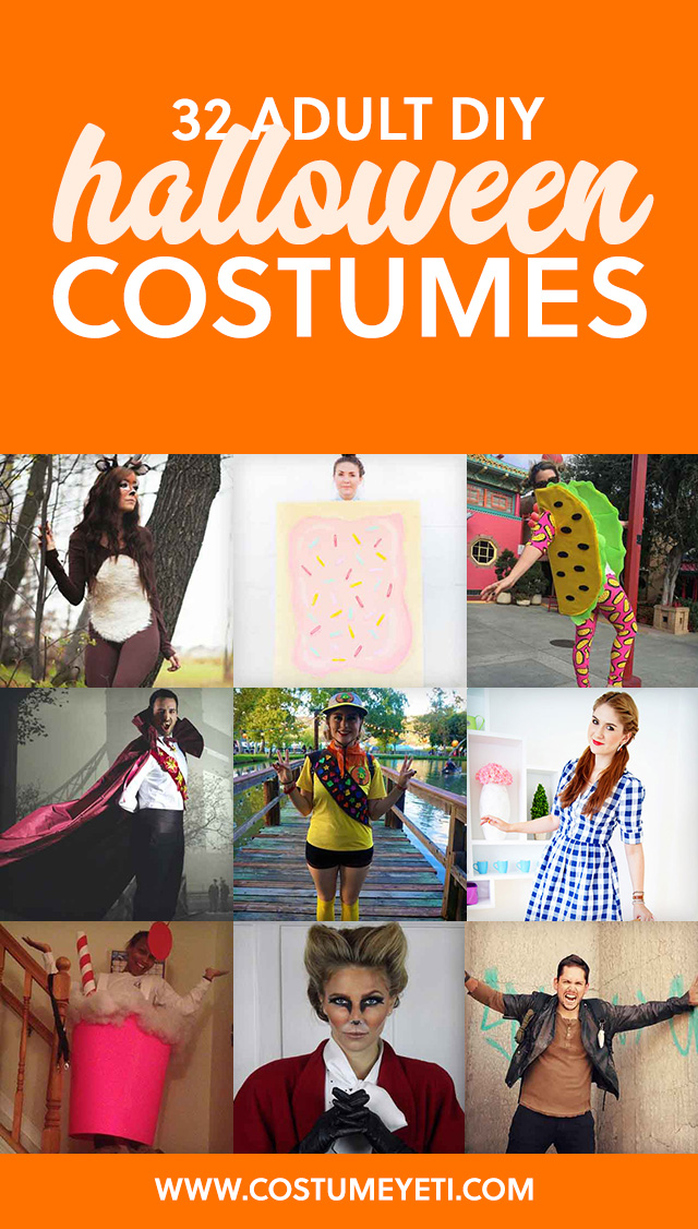 I love to DIY my Halloween costumes every year and this is my go-to resource. Save this list!