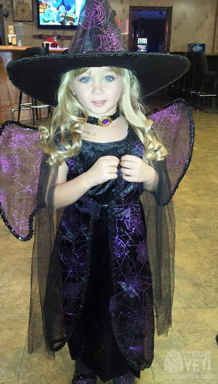 Fairy Witch Girls Costume