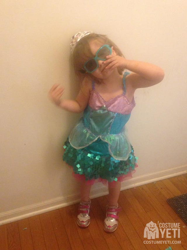 Little Girl Ariel Costume