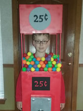 homemade gumball machine