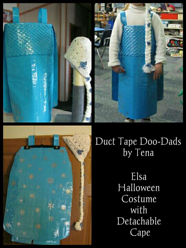 how to make an elsa costume