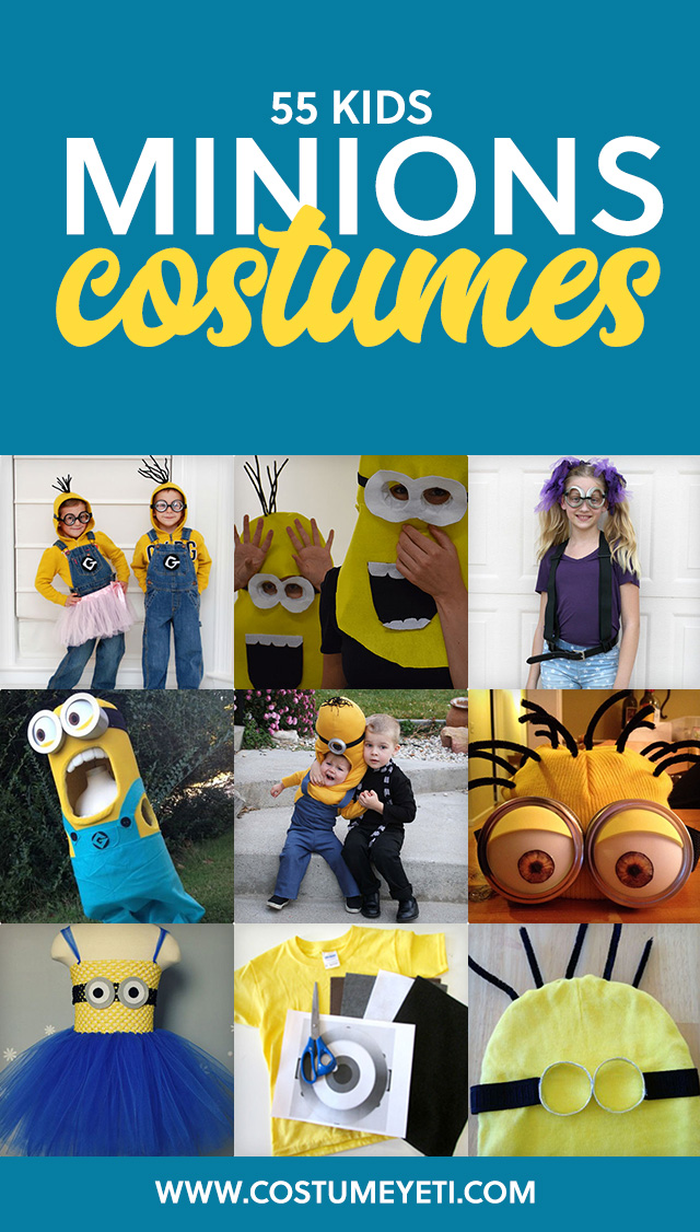 BANANA! Here are 55 of the best minion costumes for kids.