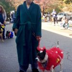 Genius Lufa Dog and Owner Costume