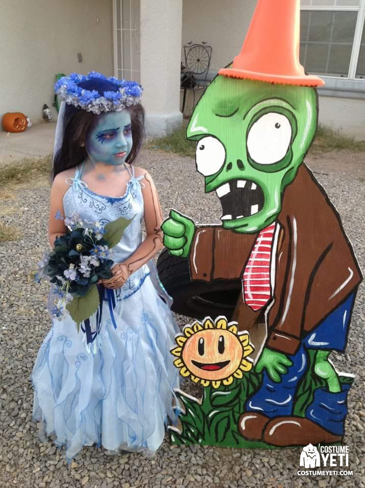 Plants vs. Zombies Pin Up Costume