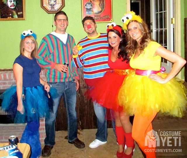 Sesame Street Group Costume