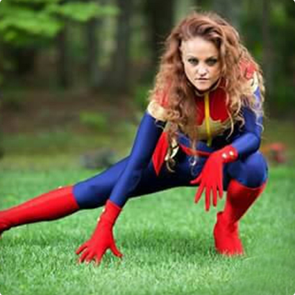 sexy Captain Marvel Costume