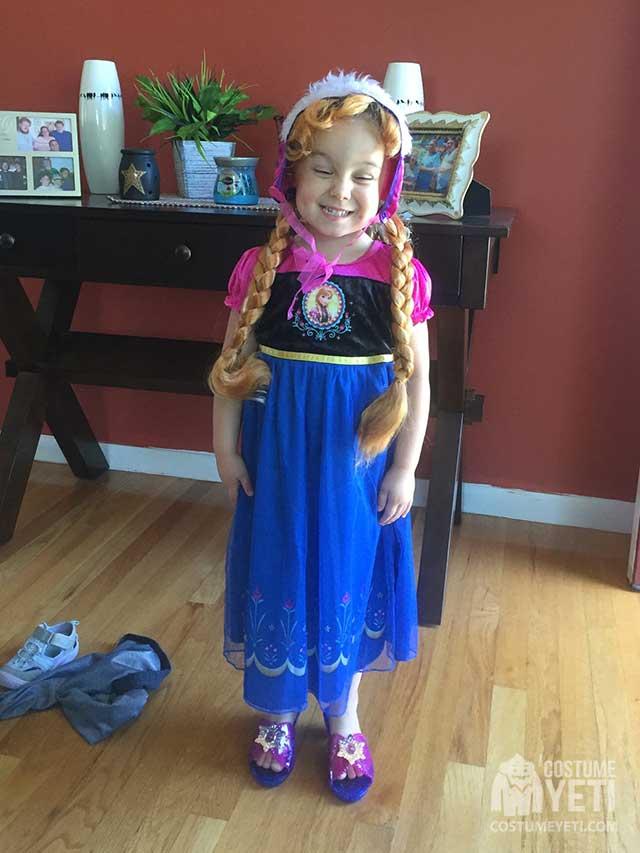 Anna from Frozen Girls Costume