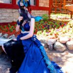 Fierce Blue Dragon Costume