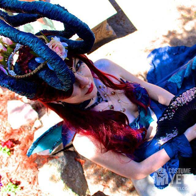 Blue Dragon Fan