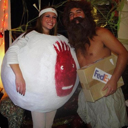Castaway Couple Costume