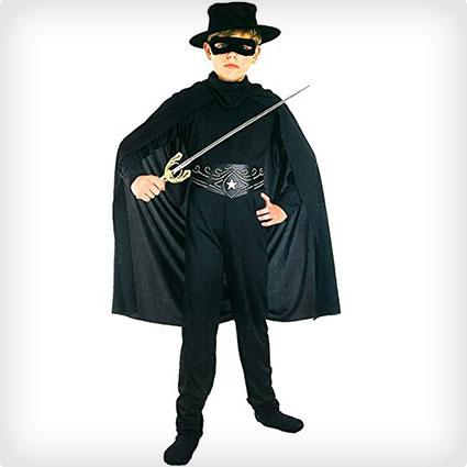 Children's Zorro Costume