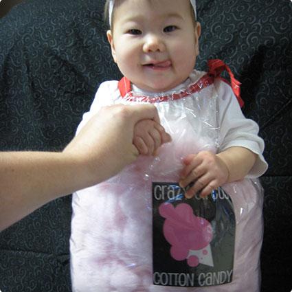 Cotton Candy Costume DIY