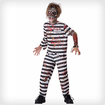 Creepy Convict Zombie Costume