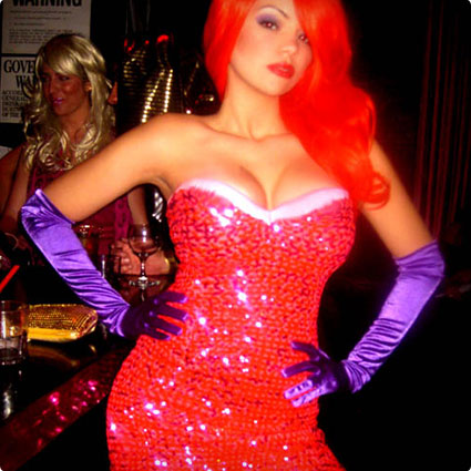 DIY Jessica Rabbit Costume