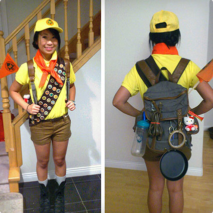 DIY Russell Costume