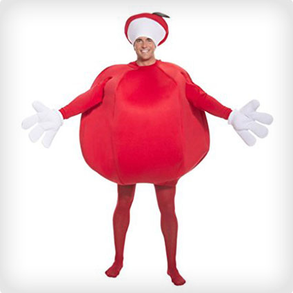 Deluxe Apple Costume