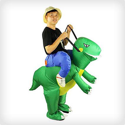 Dinosaur Jockey Costume