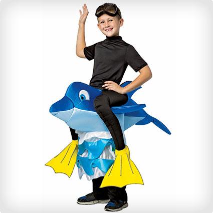 Dolphin Rider Costume