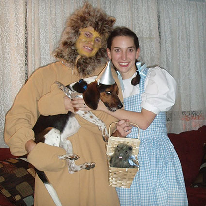 Dorothy & The Cowardly Lion