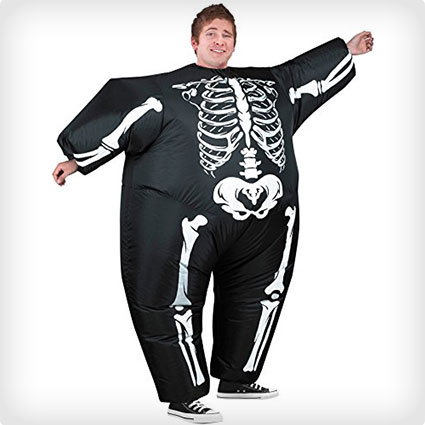Fat Skeleton Costume