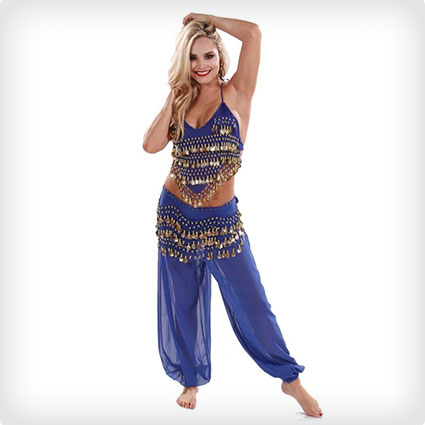 Glam Belly Dancer Costume