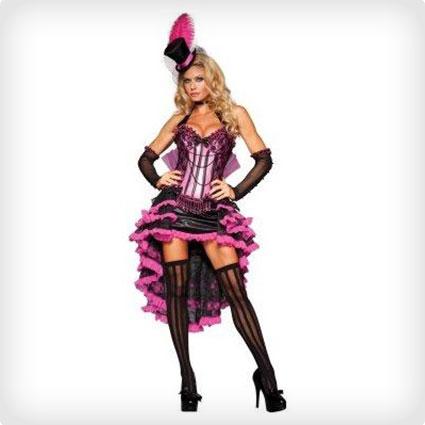Glam Burlesque Beauty Costume