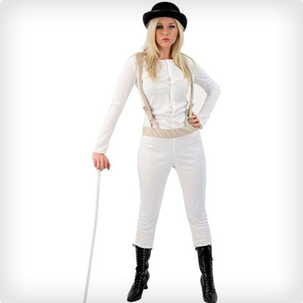 Glam Clockwork Orange Outfit