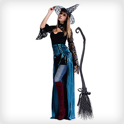 Glam Enchantress Witch Costume