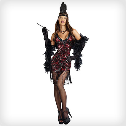 Glamorous Flapper Costume