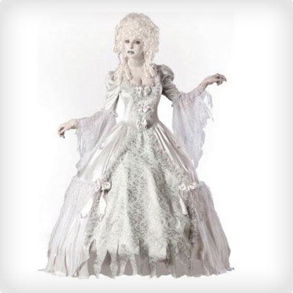 Glamorous Ghost Lady Elite Costume