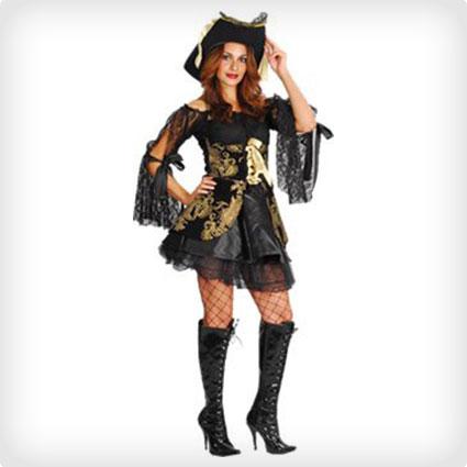 Glamorous Pirate Costume