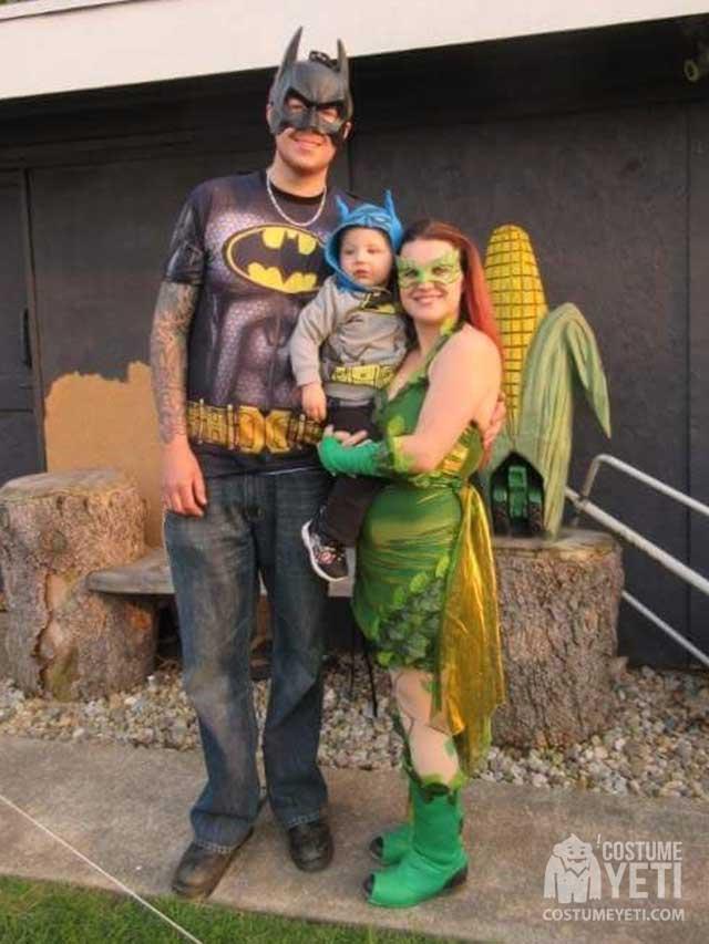 Hero vs Villain Family Costume