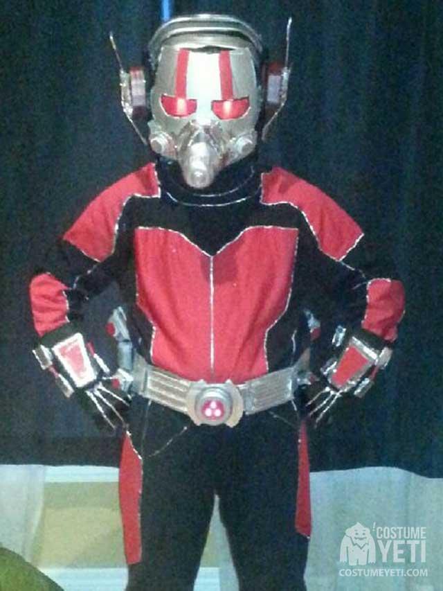 DIY Ant Man Kids Costume