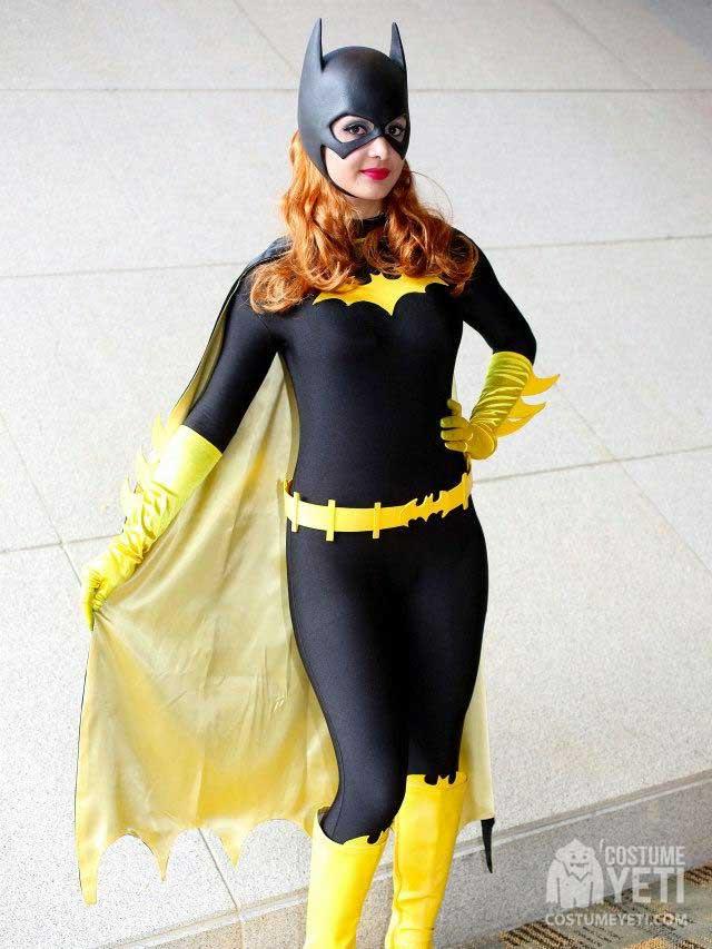 Homemade Batgirl Adult Costume