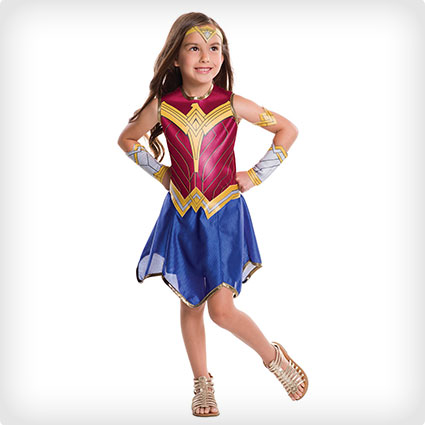 Kids Wonder Woman Costume