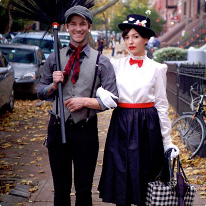 Mary Poppins & Bert Costumes