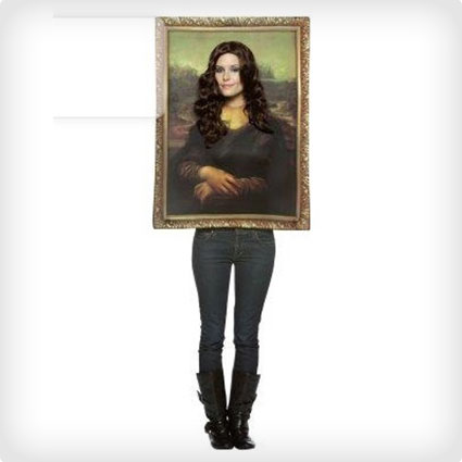 Mona Lisa Framed Costume