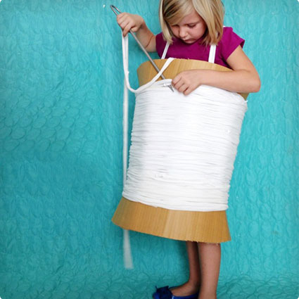 Needle and Thread Costume DIY