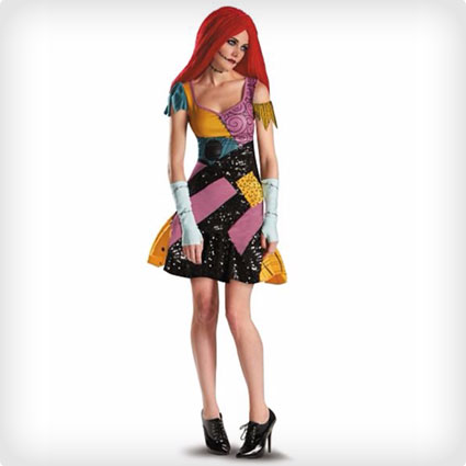 Nightmare Before Christmas Sally Glam Costume