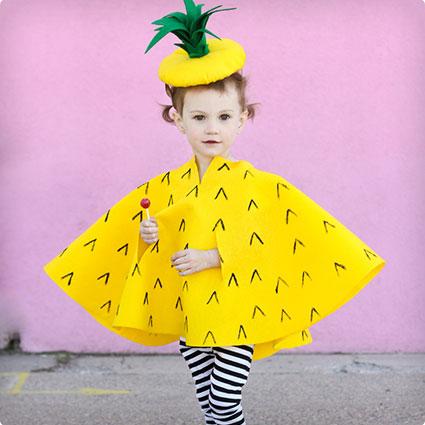 Pineapple Costume DIY