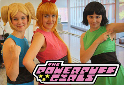 Powerpuff Girls DIY