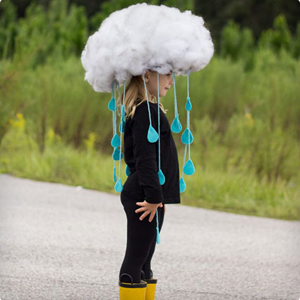 Quick & Easy Rain Cloud Costume