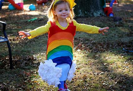 Rainbow Costume DIY