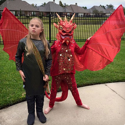 Smaug & Legolas Costumes